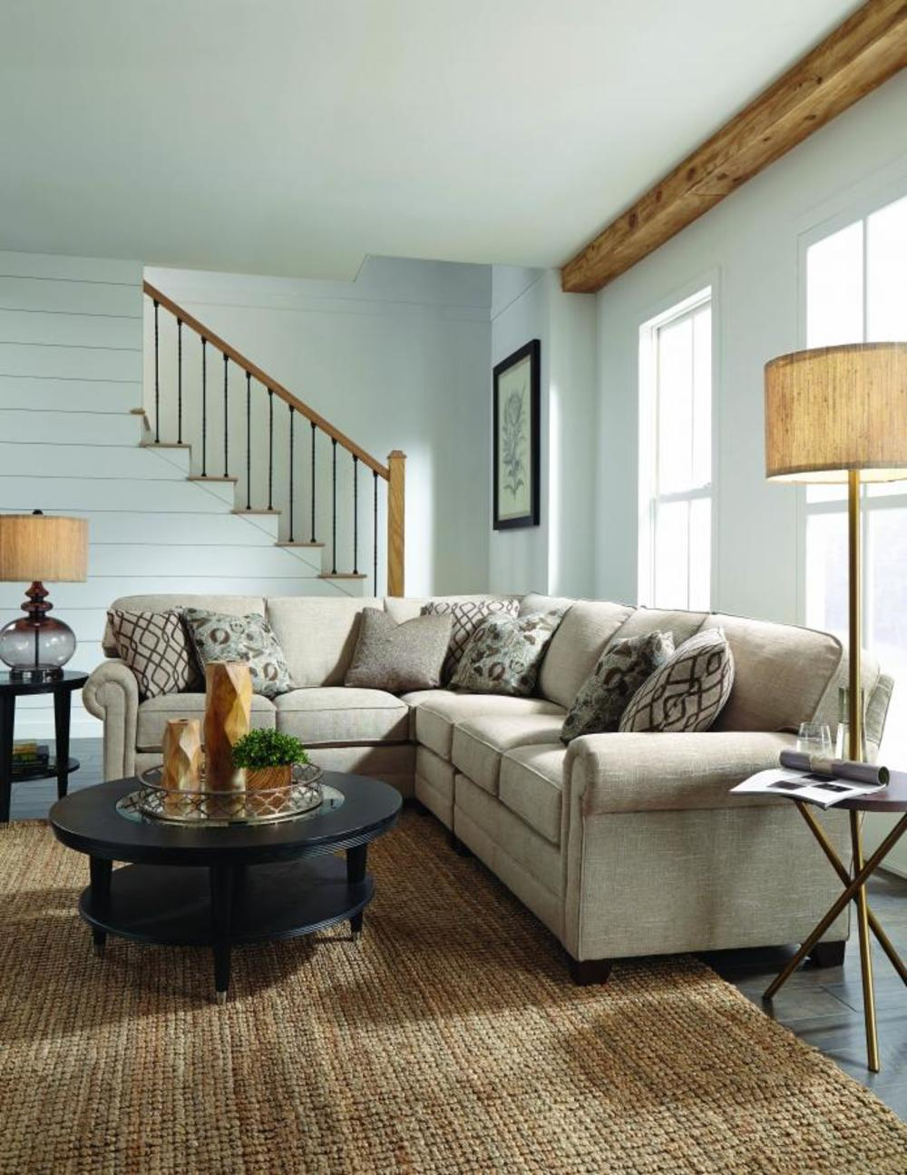 King Hickory - Bentley Three Piece Sectional