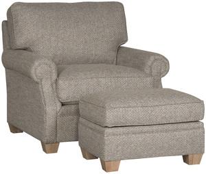 Thumbnail of King Hickory - Benson Chair and Ottoman