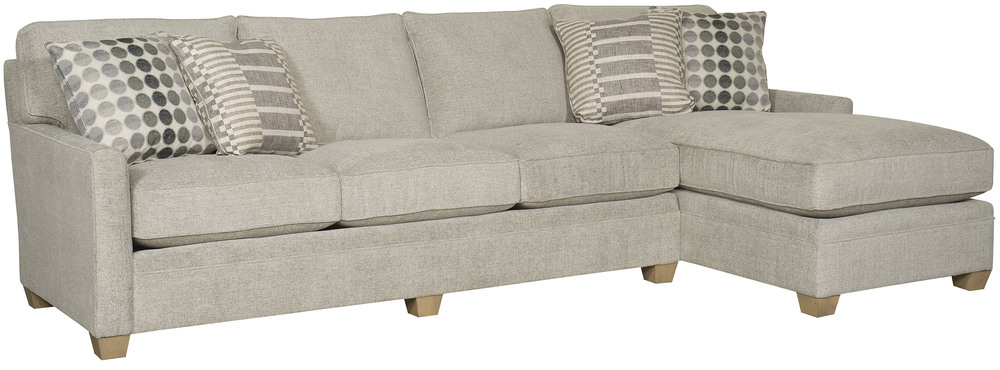 King Hickory - Benson Two Piece Sectional with Chaise
