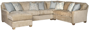 Thumbnail of King Hickory - Benson Four Piece Sectional with Chaise