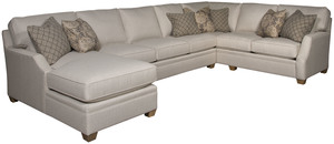 Thumbnail of King Hickory - Benson Three Piece Sectional with Chaise