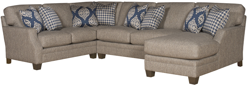 King Hickory - Jordan Three Piece Sectional with Chaise