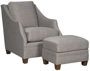 Thumbnail of King Hickory - Brandy Chair and Ottoman
