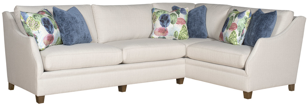 King Hickory - Brandy Two Piece Sectional