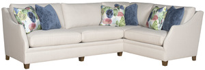Thumbnail of King Hickory - Brandy Two Piece Sectional