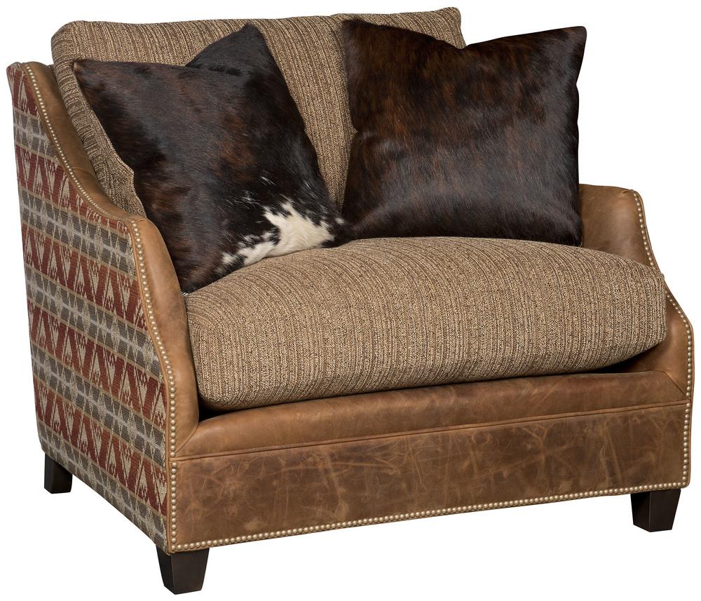 King Hickory - Brandy Chair & 1/2