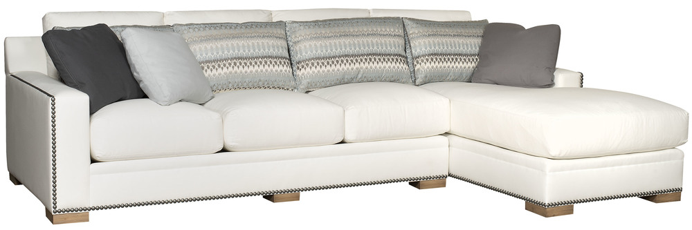 King Hickory - California Two Piece Sectional with Chaise