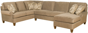 Thumbnail of King Hickory - Chatham Three Piece Sectional with Chaise