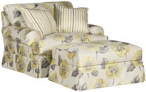 Thumbnail of King Hickory - Henson Chair and a Half and Ottoman