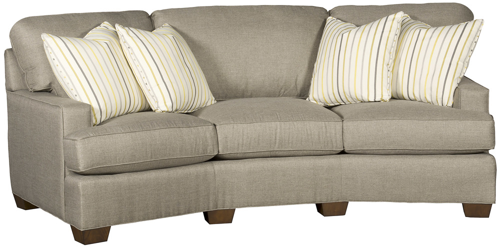 King Hickory - Henson Conversation Sofa