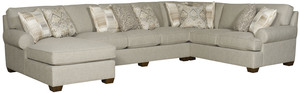 Thumbnail of King Hickory - Henson Three Piece Sectional with Chaise