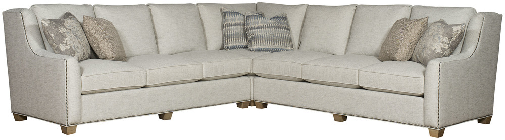King Hickory - Drake Three Piece Sectional