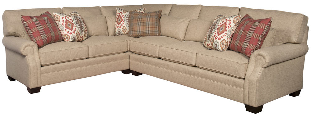 King Hickory - Whitney Two Piece Sectional