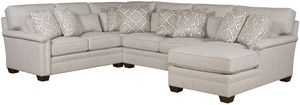 Thumbnail of King Hickory - Whitney Three Piece Sectional with Chaise
