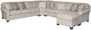 Thumbnail of King Hickory - Winston Five Piece Sectional with Chaise