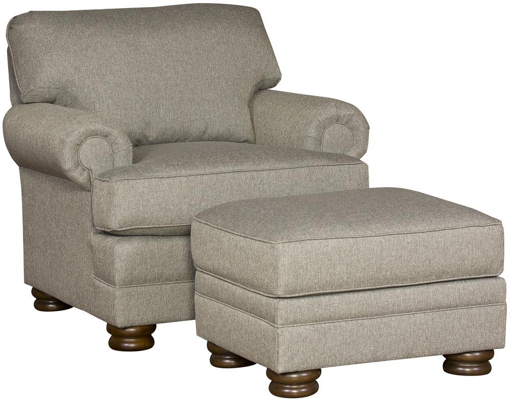 King Hickory - Lillian Chair and Ottoman