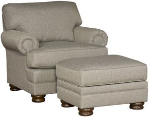 Thumbnail of King Hickory - Lillian Chair and Ottoman