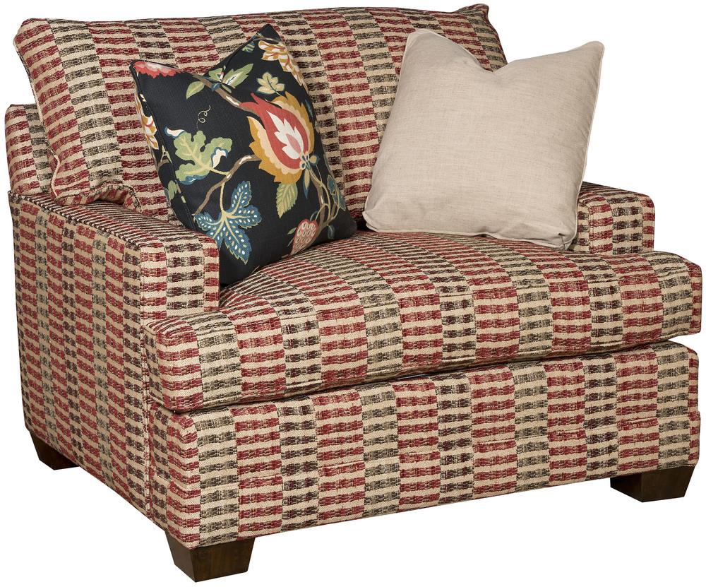 King Hickory - Highland Park Chair & 1/2