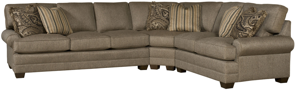 King Hickory - Highland Park Three Piece Sectional