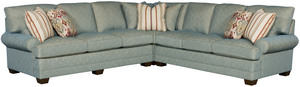 Thumbnail of King Hickory - Highland Park Three Piece Sleeper Sectional