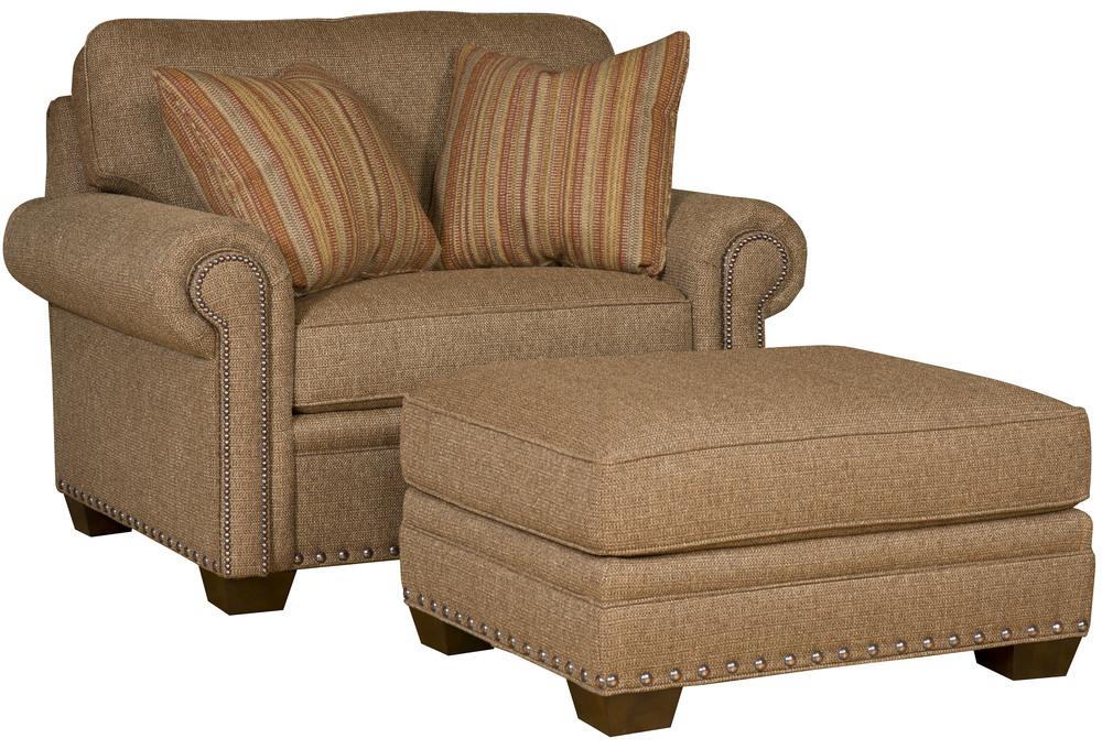 King Hickory - Reno Chair and a Half and Ottoman