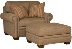 Thumbnail of King Hickory - Reno Chair and a Half and Ottoman
