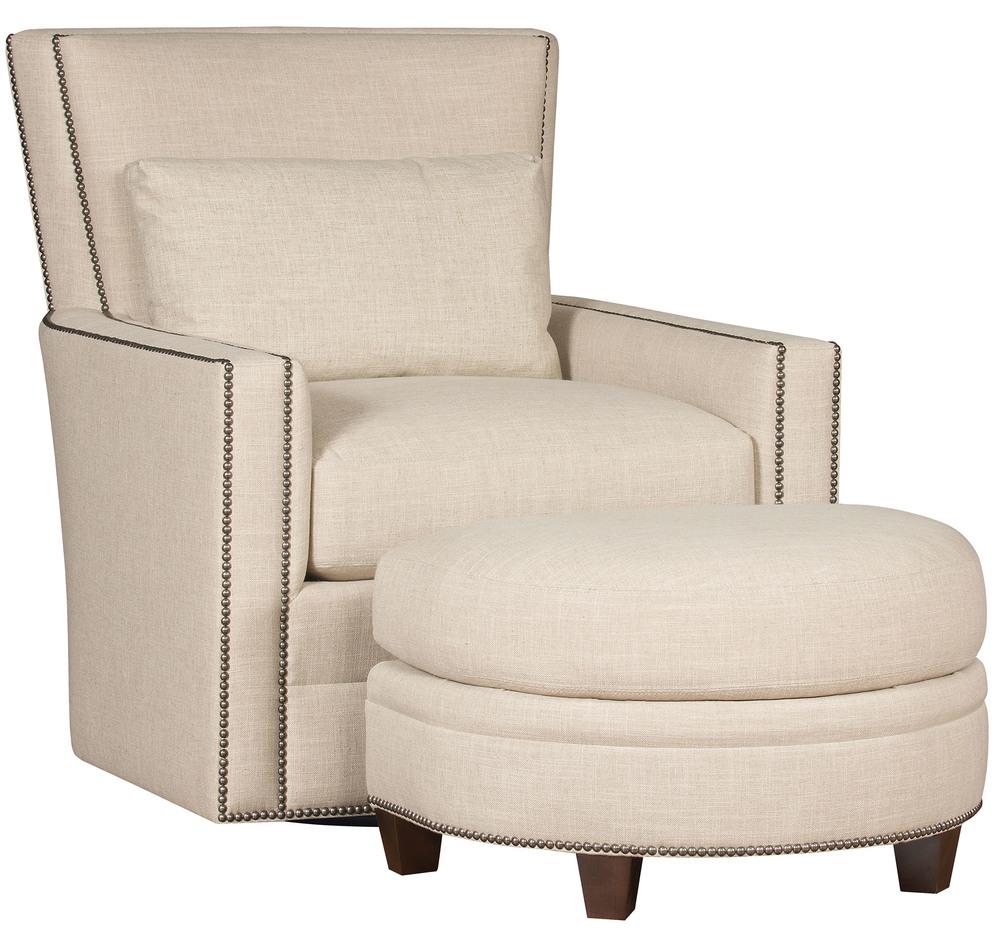 King Hickory - Nicole Swivel Chair and Ottoman