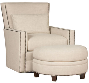 Thumbnail of King Hickory - Nicole Swivel Chair and Ottoman