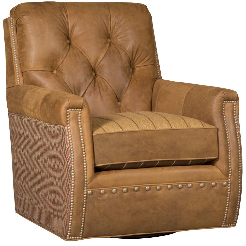King Hickory - Wyatt Swivel Chair