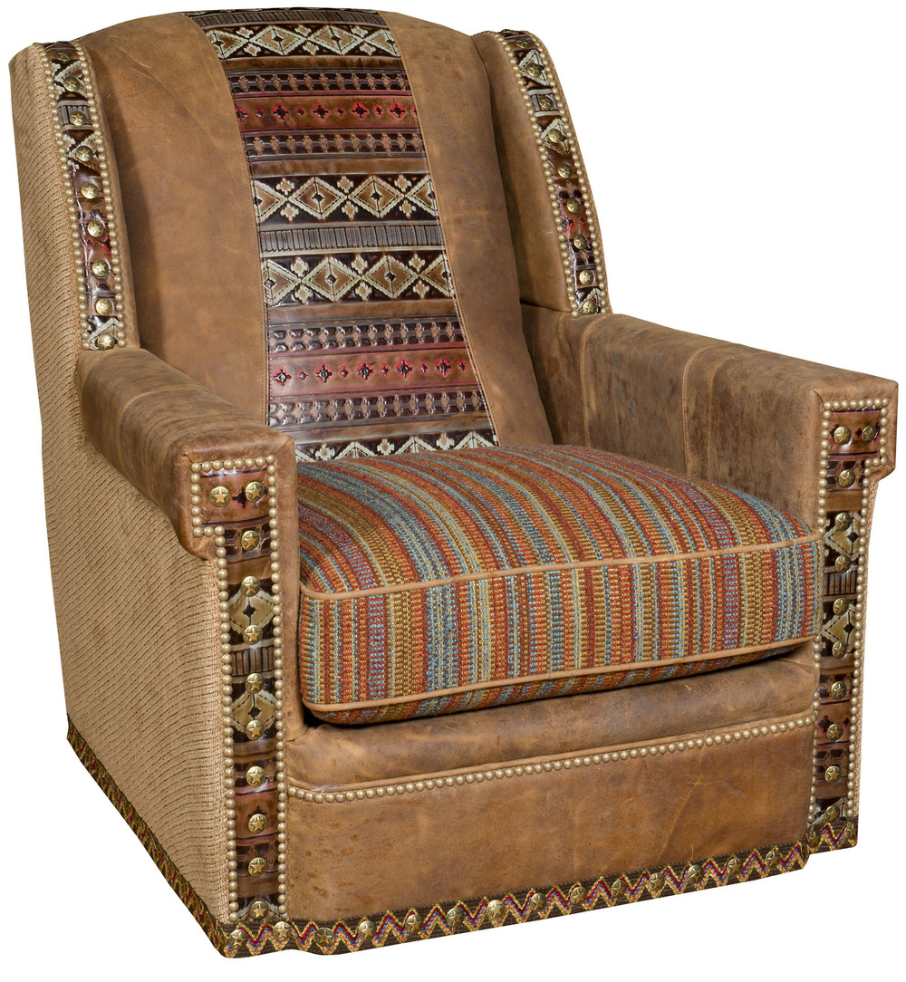 King Hickory - Mustang Swivel Chair