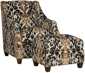 Thumbnail of King Hickory - Heather Chair and Ottoman