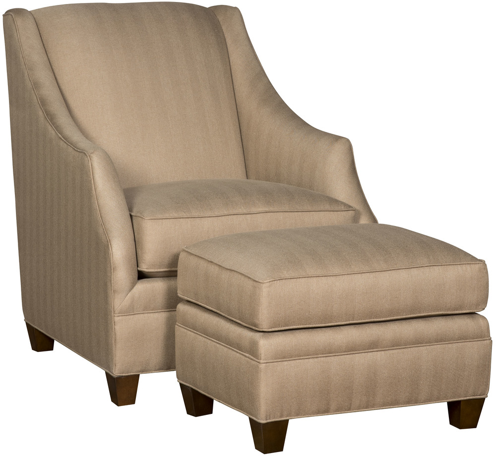 King Hickory - Heather Chair and Ottoman