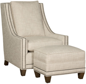 Thumbnail of King Hickory - Elsa Chair and Ottoman