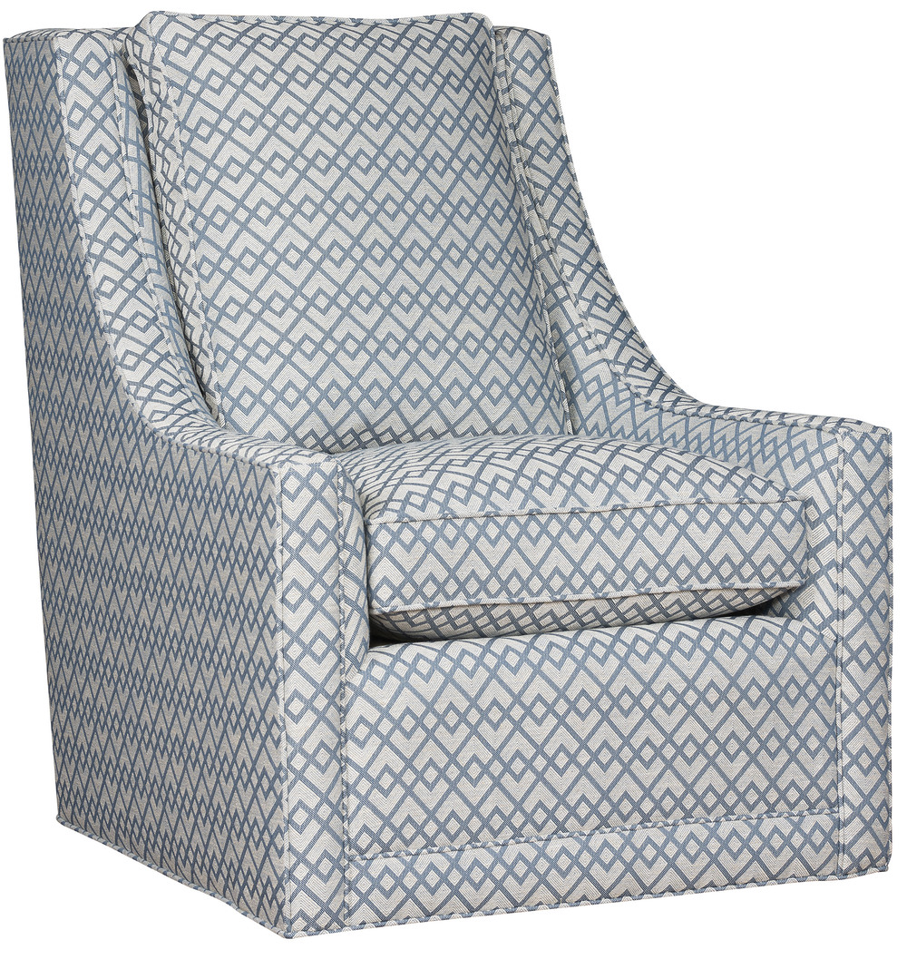 King Hickory - Elsa Swivel Chair without Nails