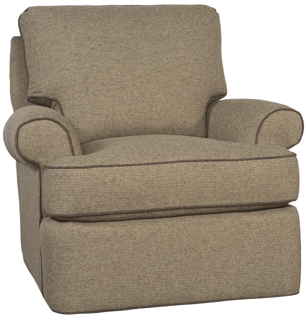 King Hickory - Medium One Swivel Chair