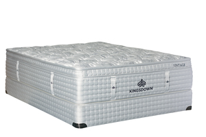 Thumbnail of Kingsdown - Vintage Cypress Bay Mattress with Low Profile Box Spring