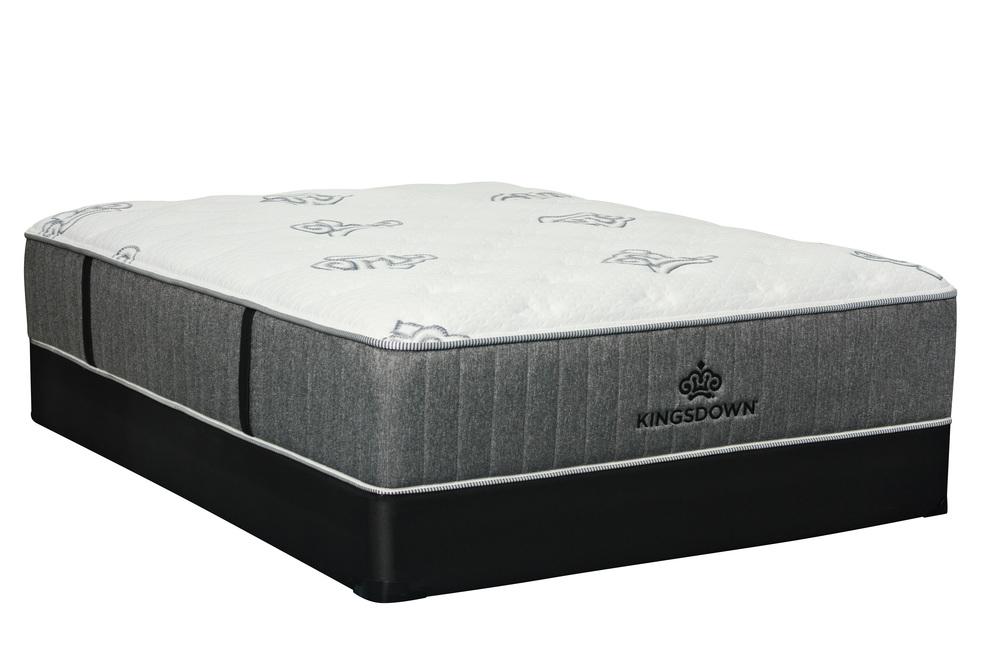 Kingsdown - Passions Zest Plush Mattress with Standard Box Spring