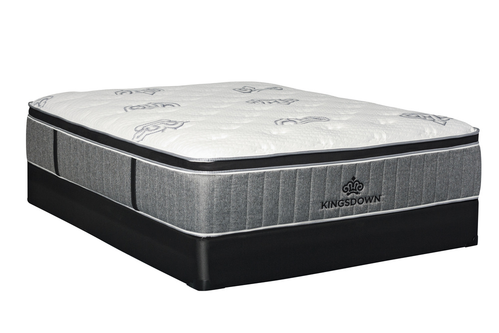 Kingsdown - Passions Zest Euro Mattress with Low Profile Box Spring