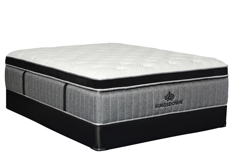 Kingsdown - Passions Fearless Plush PT Mattress with Low Profile Box Spring
