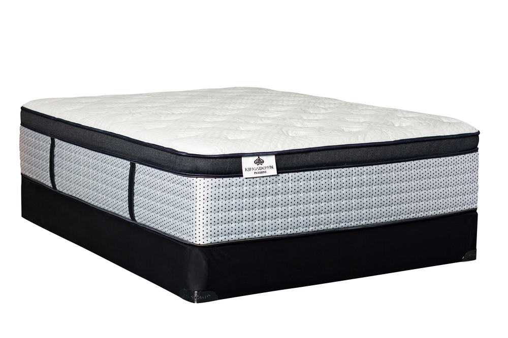 Kingsdown - Brimstead Mattress with Low Profile Box Springs
