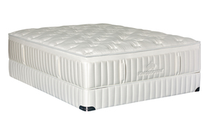 Thumbnail of Kingsdown - Vintage Melange Plush Mattress with Standard Box Spring