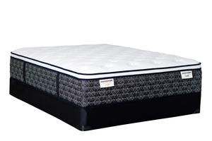 Thumbnail of Kingsdown - KD 5000 Gold/Blue Mattress with Low Profile Box Springs