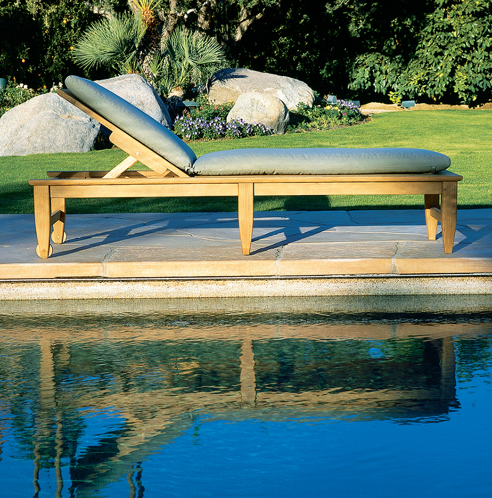 Kingsley-Bate - Amalfi Adjustable Poolside Chaise Lounge