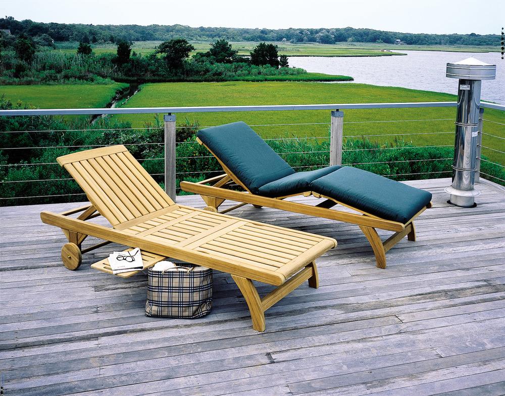Kingsley-Bate - Adjustable Knee Bend Chaise Lounge