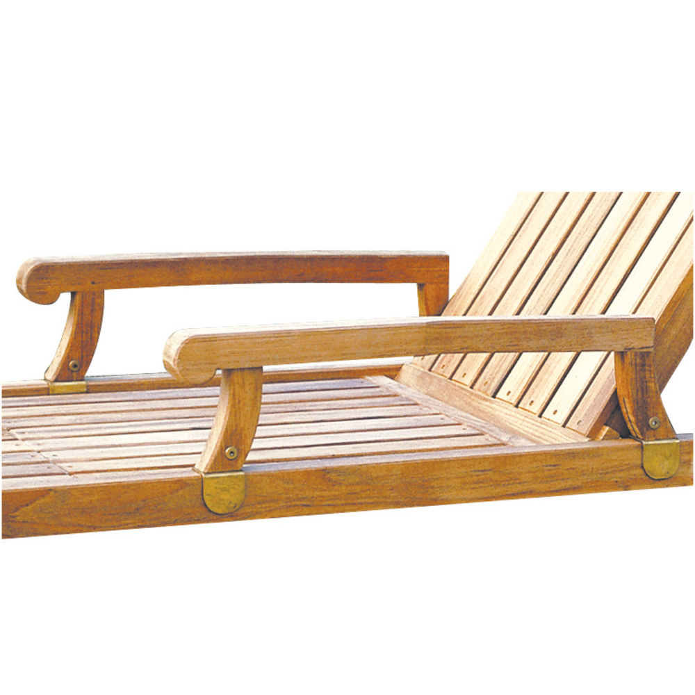 Kingsley-Bate - Nantucket Nantucket Adjustable Chaise Lounge with Arms