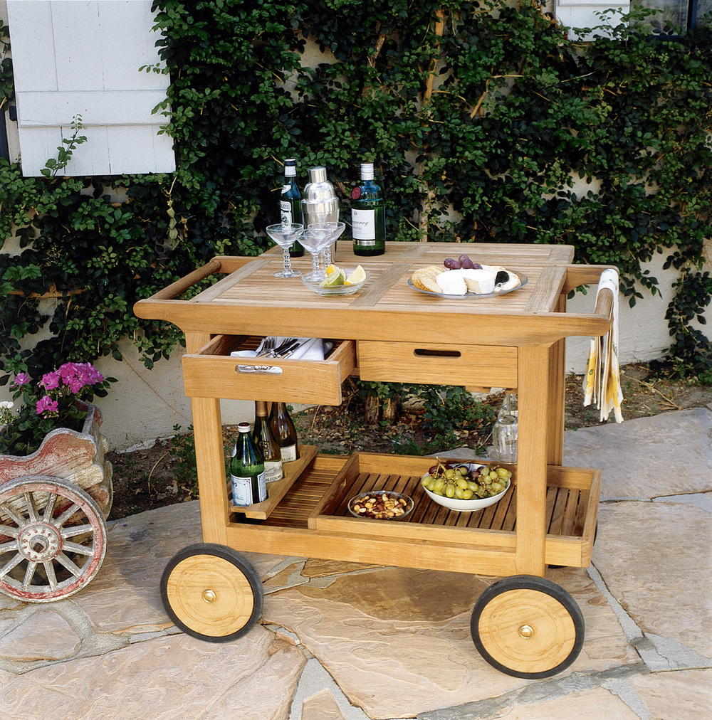 Kingsley-Bate - Serving Cart