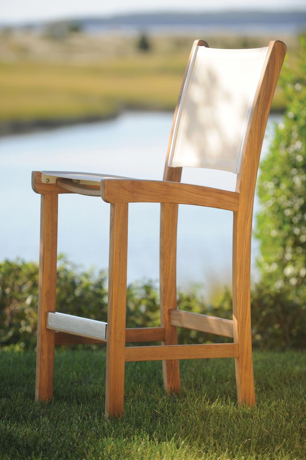 Kingsley-Bate - Armless Bar Chair
