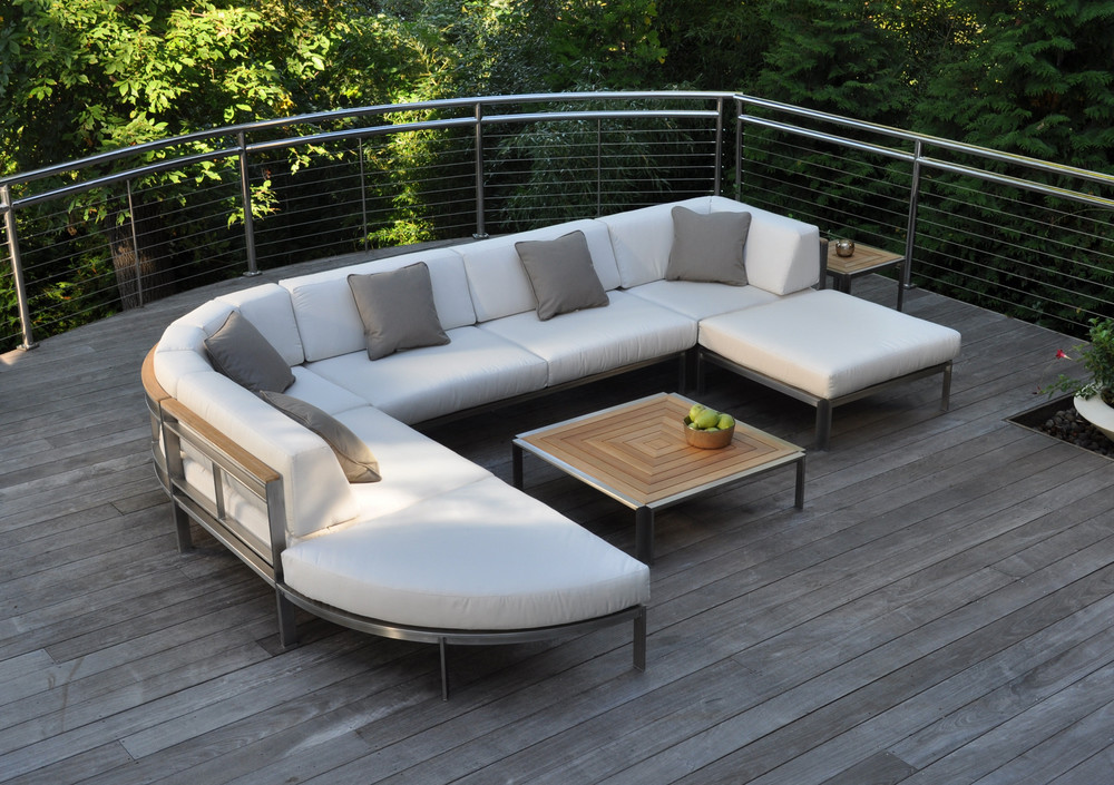 Kingsley-Bate - Square Sectional Coffee Table
