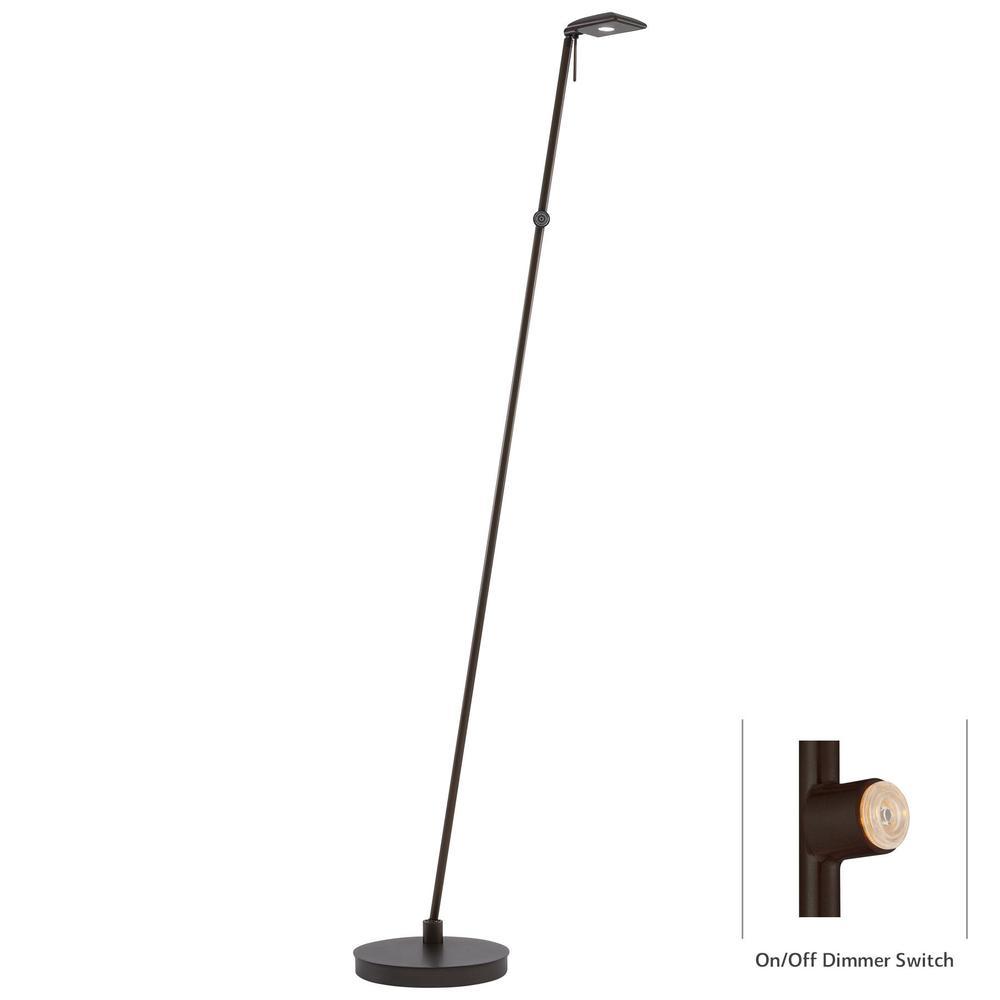 George Kovacs Lighting - One Light LED Pharmacy Floor Lamp