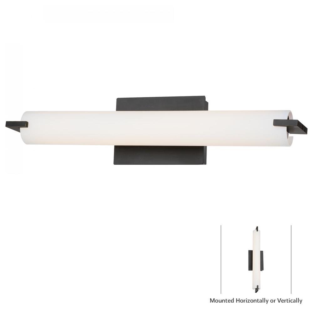 George Kovacs Lighting - Tube Bath Wall Sconce
